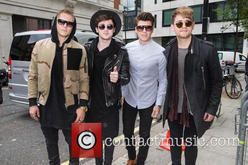 Rixton, Jake Roche, Charley Bagnall, Lewi Morgan and Danny Wilkin 2
