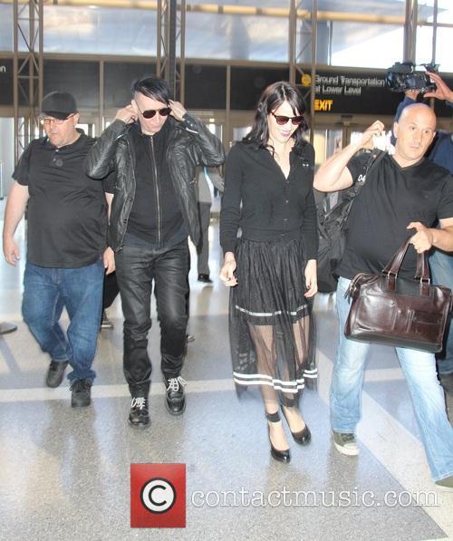 Marilyn Manson and Lindsay Ulrich 3