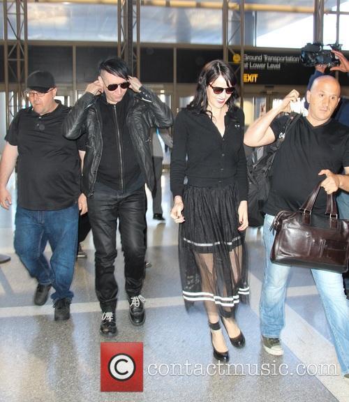 Marilyn Manson and Lindsay Ulrich 5