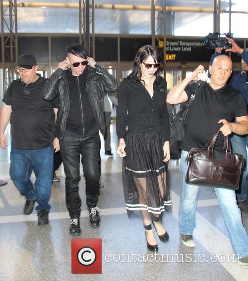 Marilyn Manson and Lindsay Ulrich 6