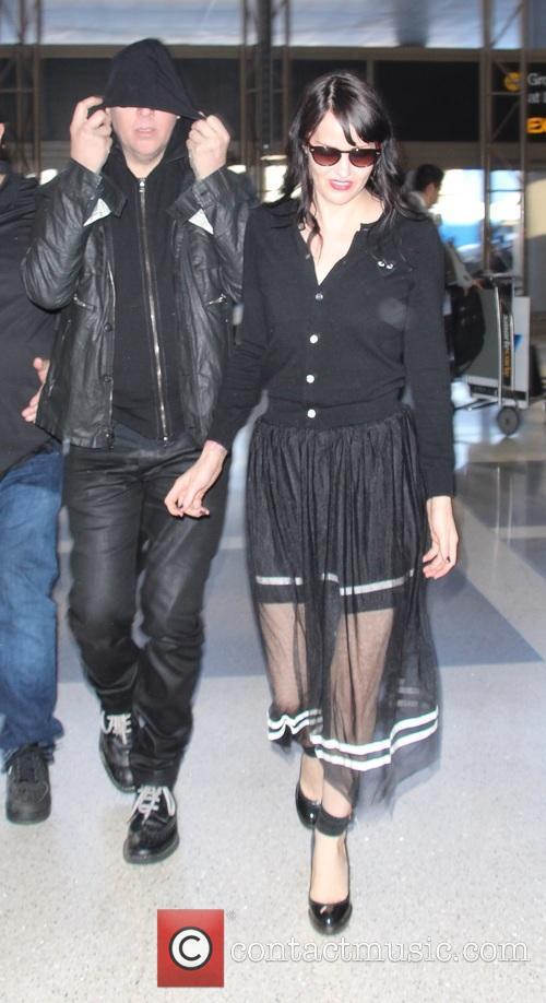 Marilyn Manson and Lindsay Ulrich 7