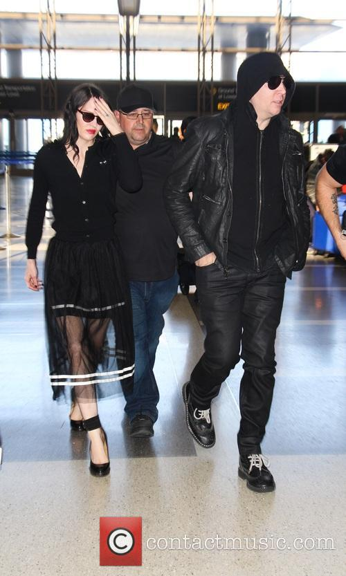 Marilyn Manson and Lindsay Ulrich 8
