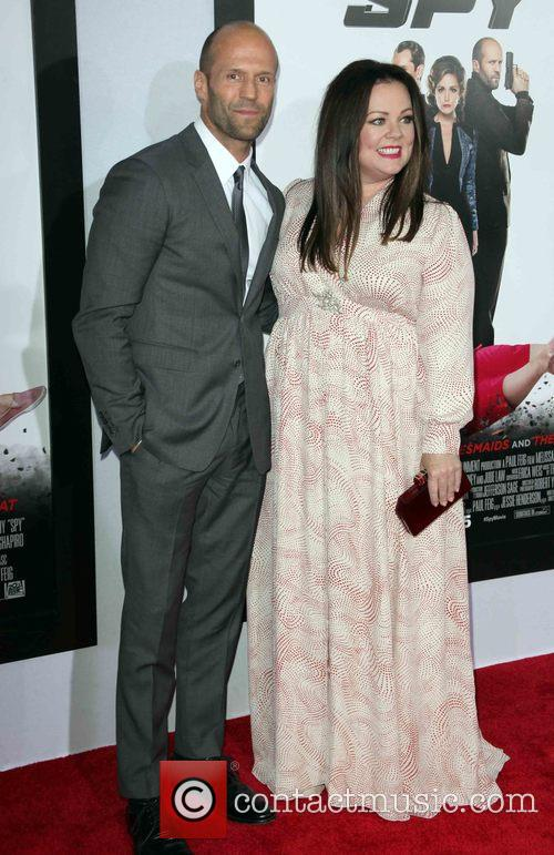 Jason Statham and Melissa Mccarthy 3