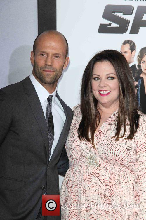 Jason Statham and Melissa Mccarthy 4