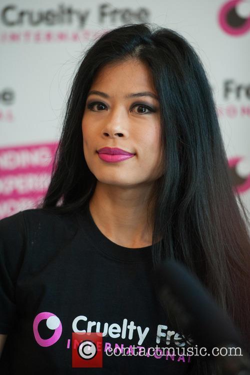 Vanessa Mae - vanessa-mae-promotes-cruelty-free_4757152
