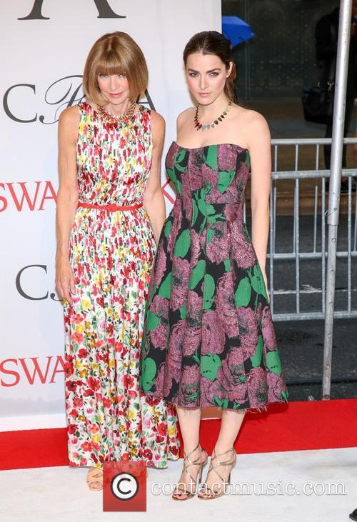 Anna Wintour and Bea Schafer 1