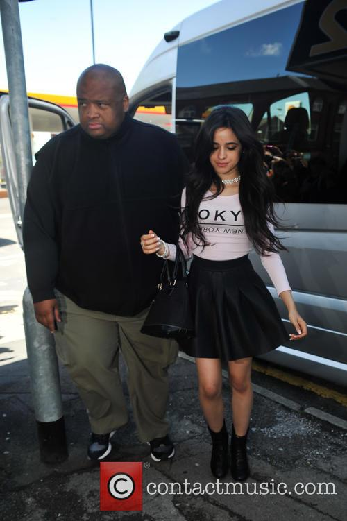 Fifth Harmony arrive at Signal 1 FM Stoke