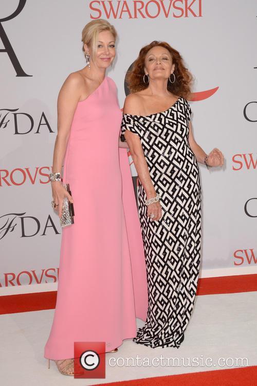 Nadja Swarovski and Diane Von Furstenberg 3
