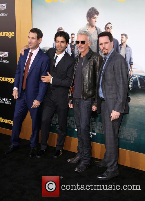 Doug Ellin, Adrian Grenier, Billy Bob Thornton and Kevin Dillon 4