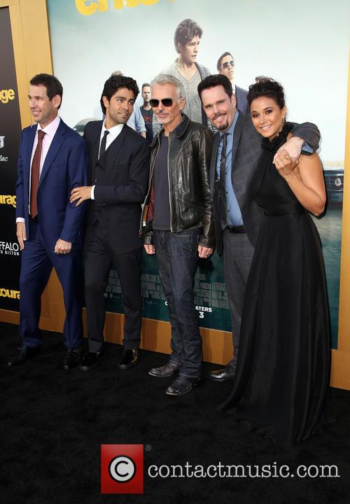 Doug Ellin, Adrian Grenier, Billy Bob Thornton, Kevin Dillon and Emmanuelle Chriqui 6