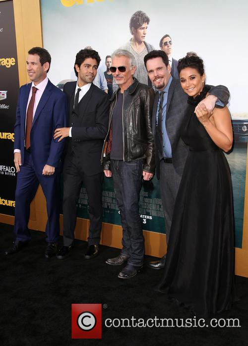 Doug Ellin, Adrian Grenier, Billy Bob Thornton, Kevin Dillon and Emmanuelle Chriqui 7