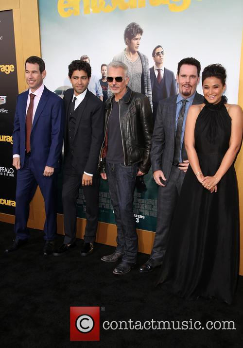 Doug Ellin, Adrian Grenier, Billy Bob Thornton, Kevin Dillon and Emmanuelle Chriqui 8