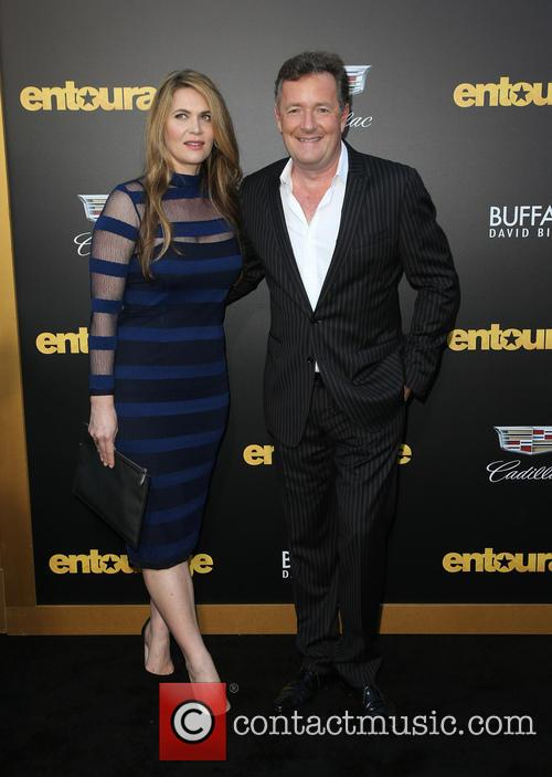 Piers Morgan and Celia Walden 2