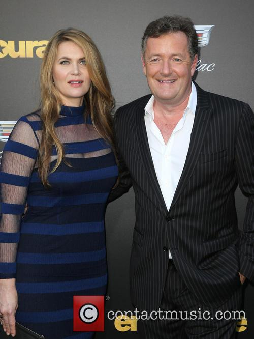 Piers Morgan and Celia Walden 1