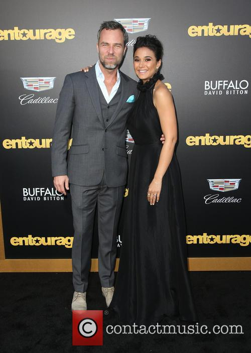 Emmanuelle Chriqui and Guest