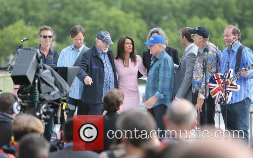 Susanna Reid and Beach Boys