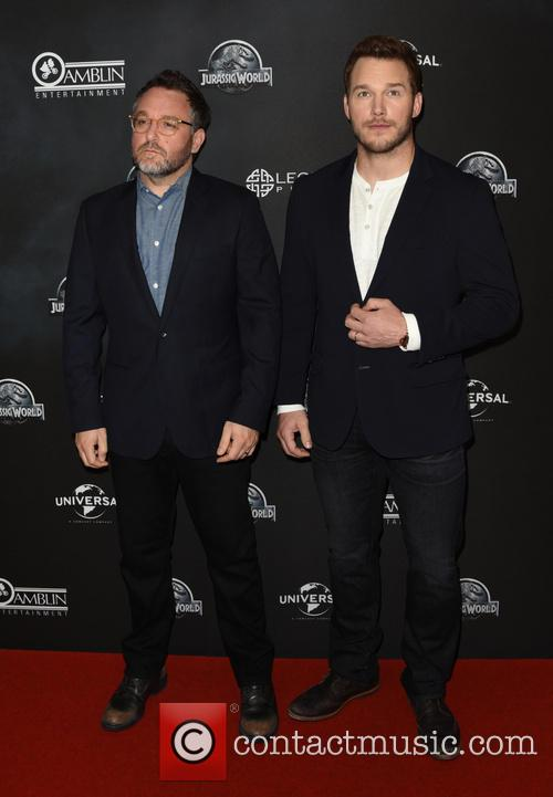 Chris Pratt and Colin Trevorrow 5
