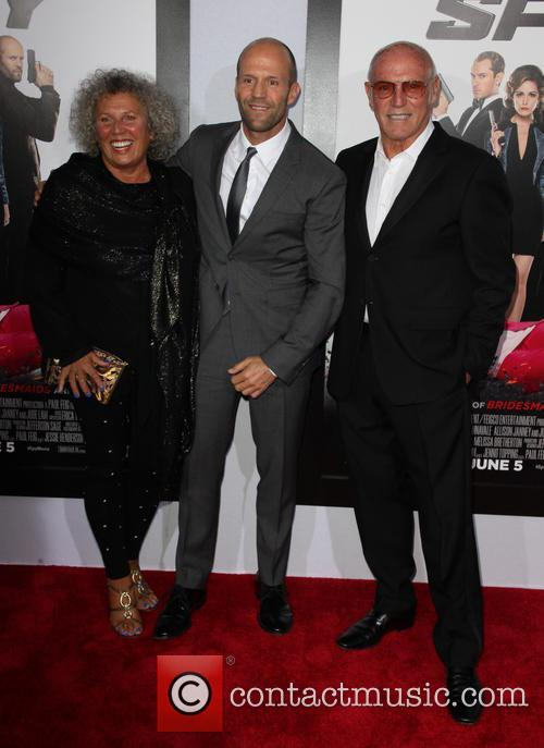 Eileen Née Yates, Jason Statham and Barry Statham 2