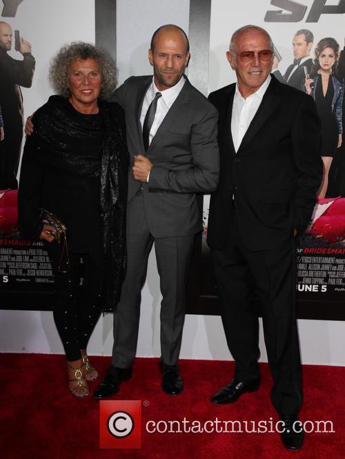 Eileen Née Yates, Jason Statham and Barry Statham 1