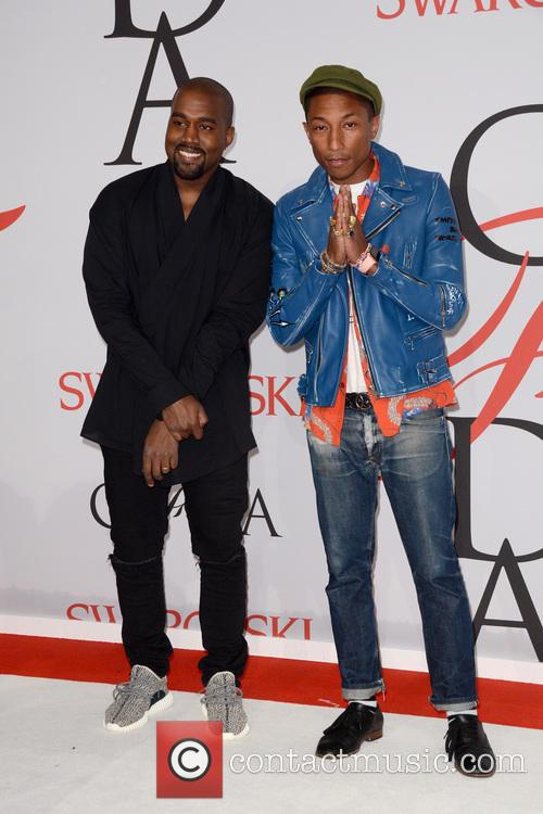 Kanye West and Pharrell Williams 4