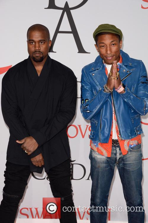 Kanye West and Pharrell Williams 5