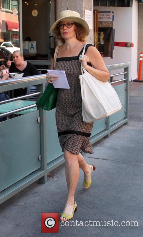 Catherine Hicks goes shopping in Beverly Hill