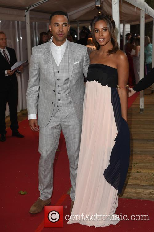 Marvin Humes and Rochelle Humes 2