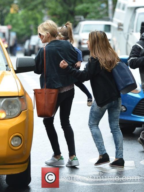 Sienna Miller and Marlowe Sturridge 2