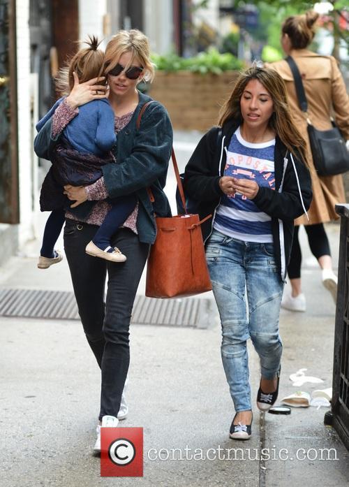 Sienna Miller and Marlowe Sturridge 3