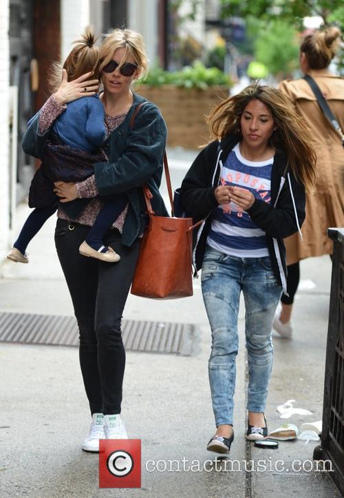 Sienna Miller and Marlowe Sturridge 6