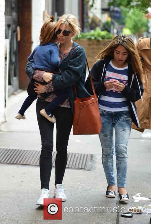Sienna Miller and Marlowe Sturridge 7