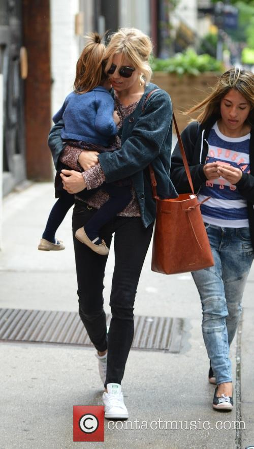 Sienna Miller and Marlowe Sturridge 8