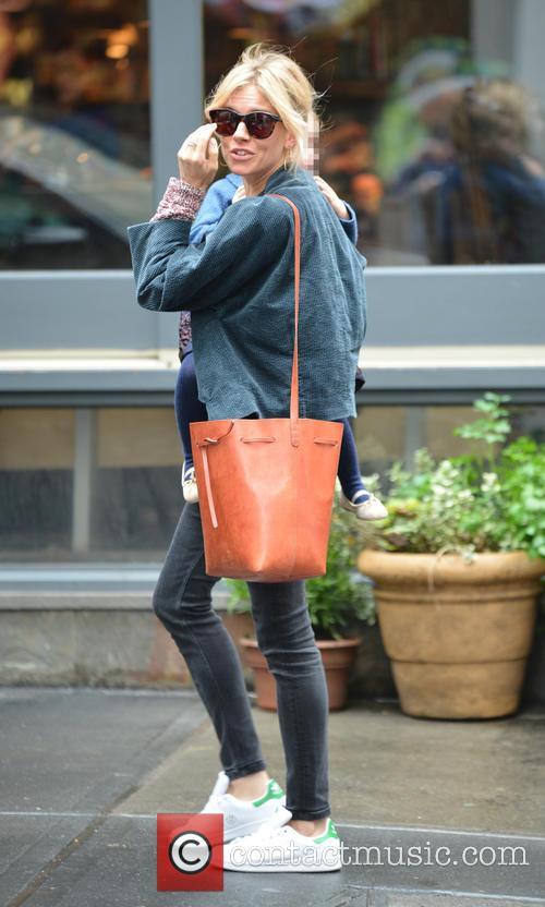 Sienna Miller and Marlowe Sturridge 9