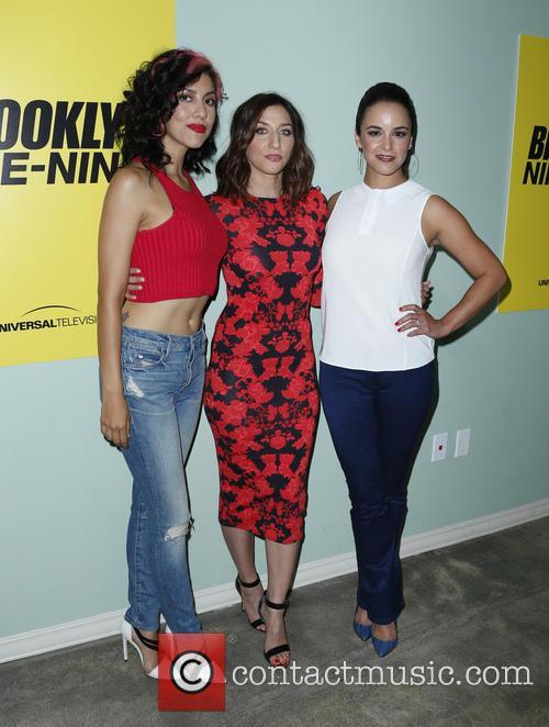 Stephanie Beatriz, Chelsea Peretti and Melissa Fumero 3