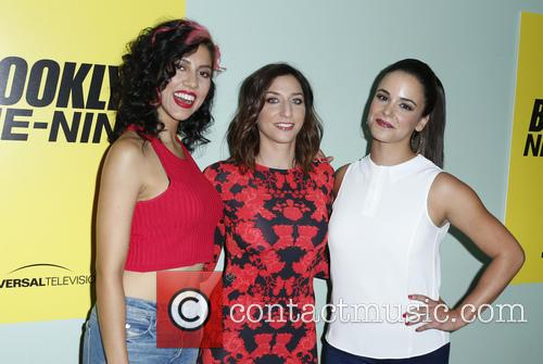 Stephanie Beatriz, Chelsea Peretti and Melissa Fumero 1