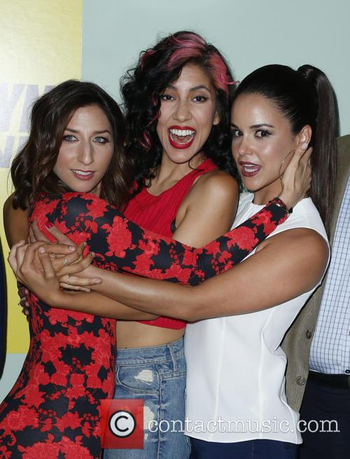 Chelsea Peretti, Stephanie Beatriz and Melissa Fumero 9