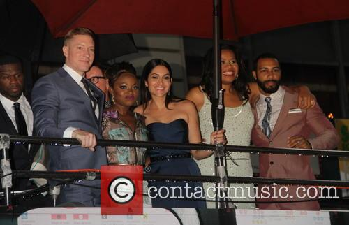 Joseph Sikora, Curtis 50cent Jackson, Naturi Naughton, Lela Loren, Courtney Kemp Agboh and Omari Hardwick 2