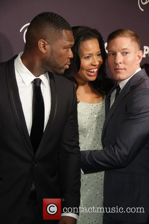Joseph Sikora, Curtis 50cent Jackson and Courtney Kemp Agboh 4