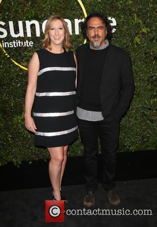 Alejandro Gonzalez Inarritu and Keri Putnam 4