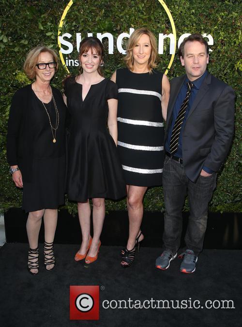 Michelle Satter, Marielle Heller, Keri Putnam and Mike Birbiglia 2