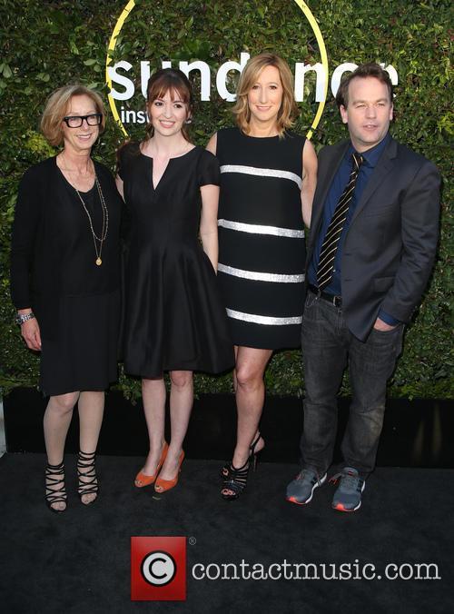 Michelle Satter, Marielle Heller, Keri Putnam and Mike Birbiglia 1