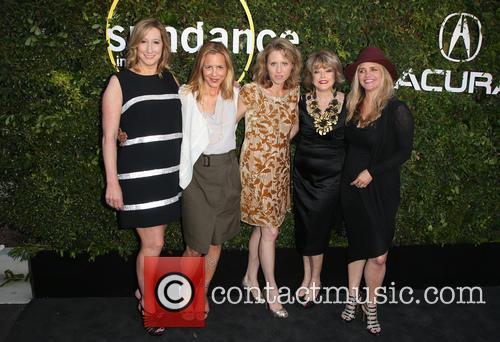 Keri Putnam, Maria Bello, Amy Redrofd, Pat Mitchell and Clare Munn 5