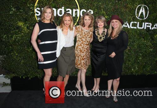 Keri Putnam, Maria Bello, Amy Redrofd, Pat Mitchell and Clare Munn 6