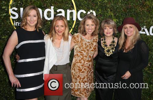 Keri Putnam, Maria Bello, Amy Redrofd, Pat Mitchell and Clare Munn 1