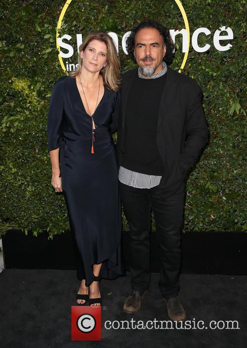 Alejandro Gonzalez Inarritu and Maria Eladia Hagerman 5