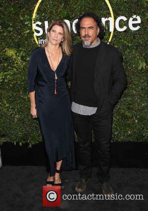 Alejandro Gonzalez Inarritu and Maria Eladia Hagerman 6