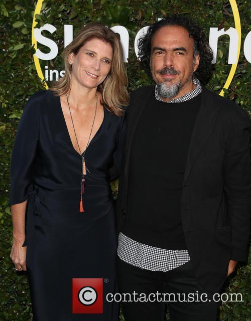 Alejandro Gonzalez Inarritu and Maria Eladia Hagerman 7
