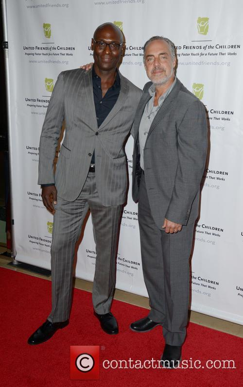 Lance Reddick and Titus Welliver