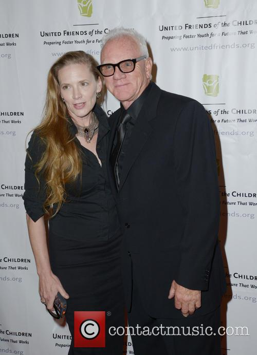 Kelley Kuhr and Malcolm Mcdowell 2