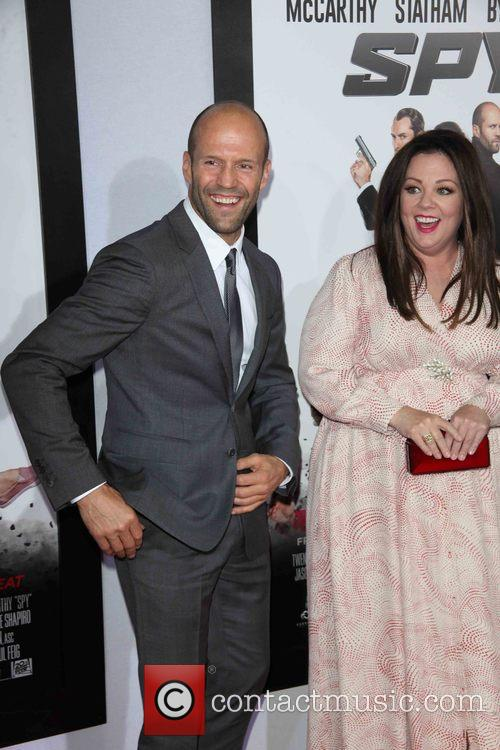 Jason Statham and Melissa Mccarthy 1